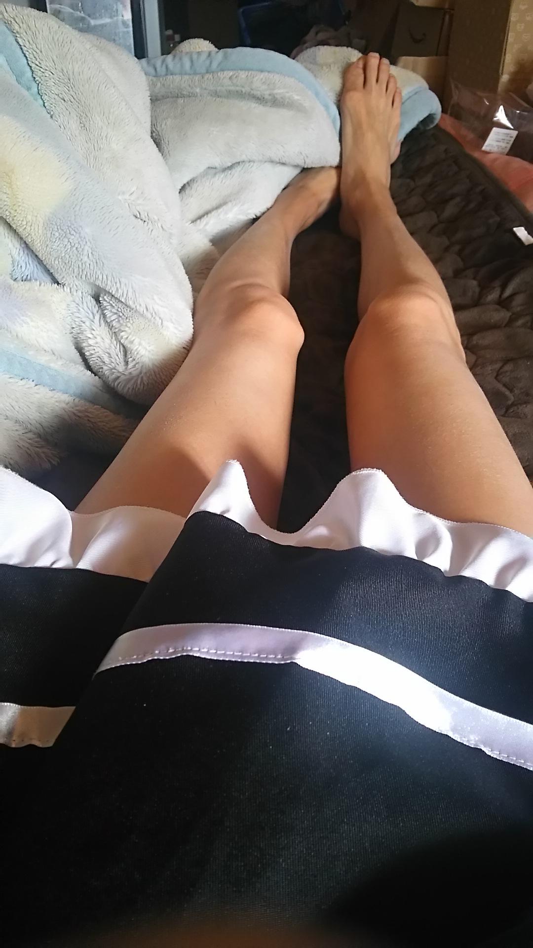 メイドの脚  【女装もみじ】