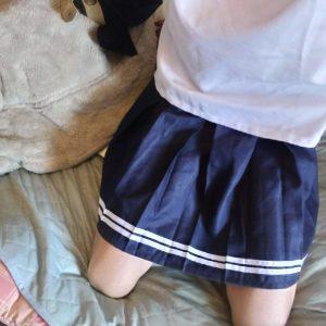 女装とパンツ 【女装もみじ】